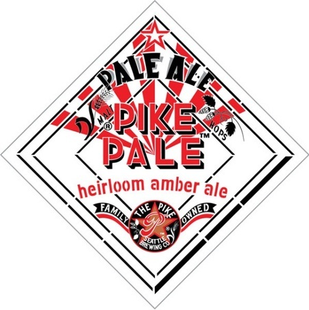 Pike Pale Ale beer Label Full Size