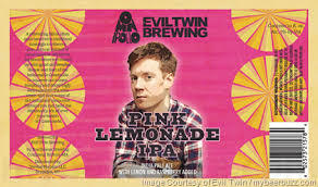 Evil Twin / Omnipollo Pink Lemonade IPA Beer