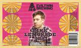 Evil Twin / Omnipollo Pink Lemonade IPA Beer