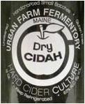 Urban Farm Fermentory Dry Cider Beer