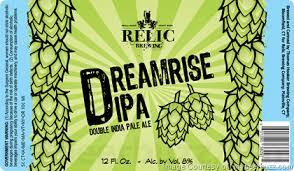 Relic The Mage DIPA beer Label Full Size