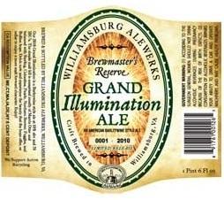 AleWerks Grand Illumination beer Label Full Size
