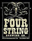 Four String Hilltop Heritage Lager beer