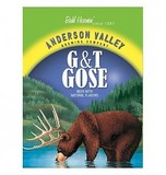Anderson Valley Barrel Aged G&T Gose Beer