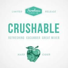 Farmhaus Ciders Crushable beer Label Full Size