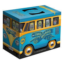 Two Roads Beer Bus Variety Pack beer Label Full Size