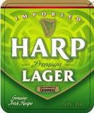 Harp Lager beer