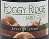 Foggy Ridge Sweet Stayman Cider Beer