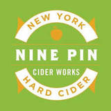 Nine Pin Albany Distilling Bourbon Barrel Aged Cider beer