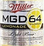 MGD 64 Lemonade beer