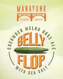 Manayunk Belly Flop Gose Beer