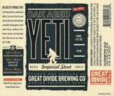 Great Divide Oak Aged Yeti Imperial Stout Beer