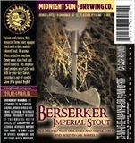 Midnight Sun Berserker Imperial Stout beer