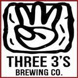 Three 3's Totally Drenched Double IPA beer