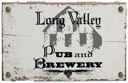 Long Valley Brew Pub Hot Rod Ale beer Label Full Size