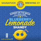 Saugatuck Blueberry Lemonade Shandy beer