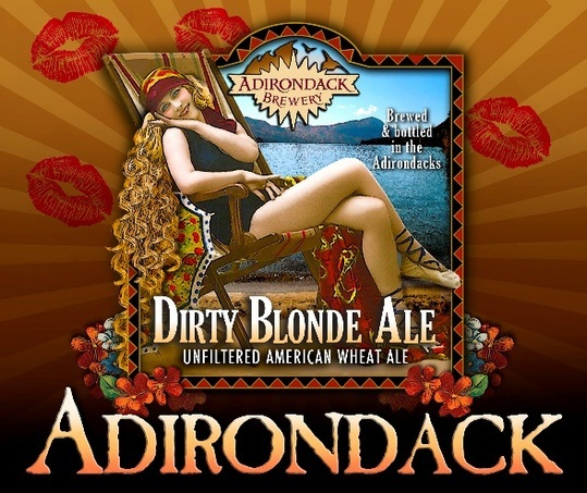 Adirondack Dirty Blonde Ale beer Label Full Size