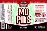 Jersey Girl MO PILS (Mount Olive Pilsner) beer