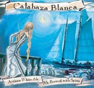 Jolly Pumpkin Calabaza Blanca beer Label Full Size
