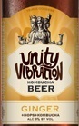 Unity Vibration Triple Goddess Ginger Kombucha Beer Beer