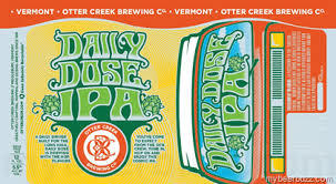 Otter Creek Daily Dose beer Label Full Size
