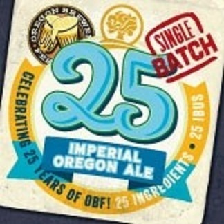 Oakshire Imperial Oregon Ale beer Label Full Size