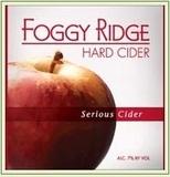 Foggy Ridge Serious Cider beer