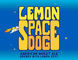 Asheville Brewing Company Lemon Space Dog beer