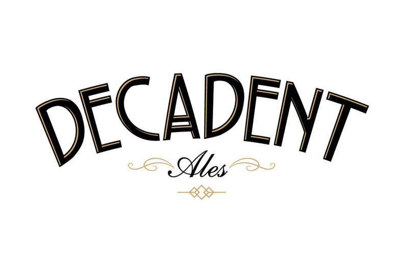 Decadent Ales Creme Brulee IPA beer Label Full Size
