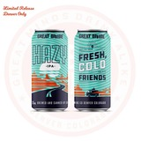 Great Divide Hazy IPA beer