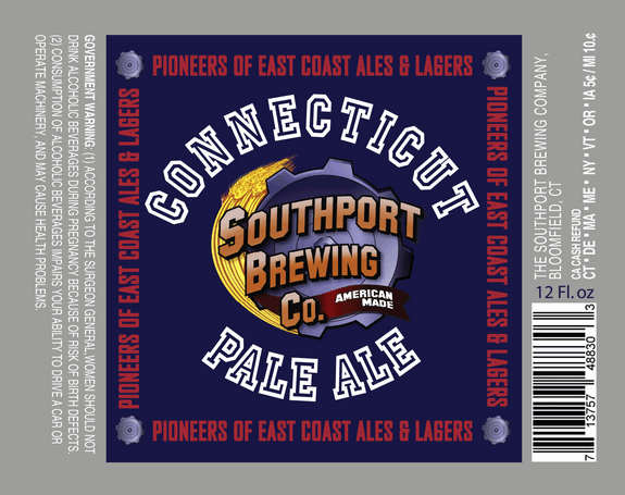 Southport CT Pale Ale beer Label Full Size