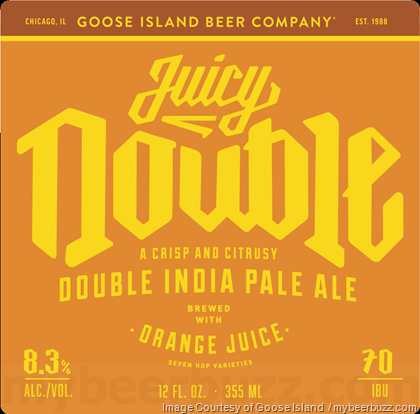 Goose Island Juicy Double IPA Beer