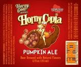 Horny Goat Hornycopia Pumpkin Ale beer