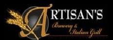 Artisan's English Mild Brown Ale beer Label Full Size