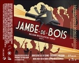 De la Senne Jambe-de-Bois beer