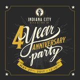 Indiana City 4th Anniversary IPA Beer