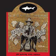Dogfish Head Raison D'Extra beer Label Full Size