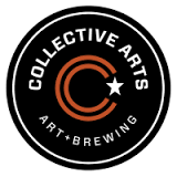 Collective Arts Guava Gose beer Label Full Size