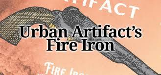 Urban Artifact Fire Iron beer Label Full Size