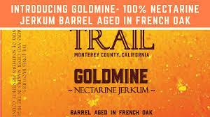 Mission Trail Goldmine Nectarine Jerkum beer Label Full Size