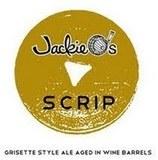 Jackie O's Scrip beer
