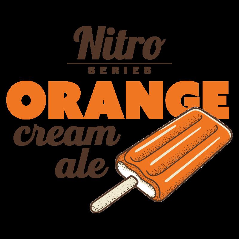 Breckenridge Orange Cream Nitro beer Label Full Size