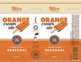 Breckenridge Orange Cream Nitro Beer