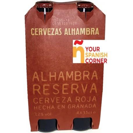 Alhambra Roja beer Label Full Size