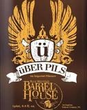Blue Mountain Barrel House Uber Pils beer