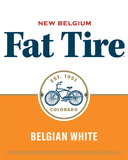 New Belgium Fat Tire Belgian White beer