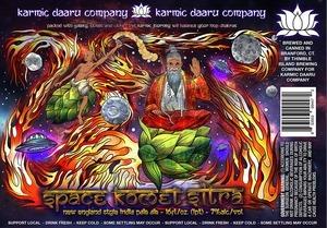 Karmic Daaru Space Komet Sitra IPA beer Label Full Size