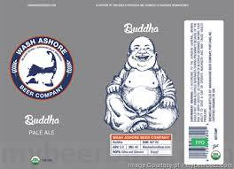 Wash Ashore Buddha Pale Ale beer Label Full Size