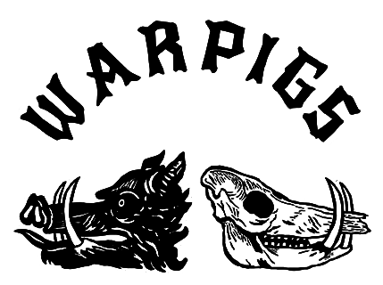 Warpigs Foggy Geezer beer Label Full Size