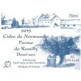Cider De Normandie Ferme de Romilly Demi-sec beer